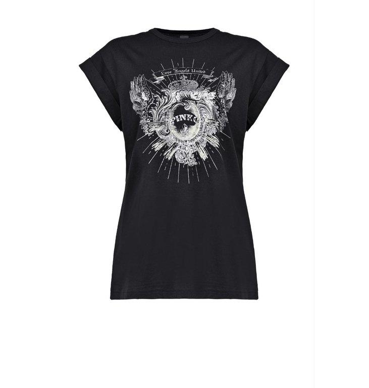 Pinko Pinko Black T-shirt Cantucci
