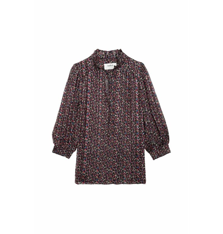 Ba&sh Ba&sh Black Blouse Dalas