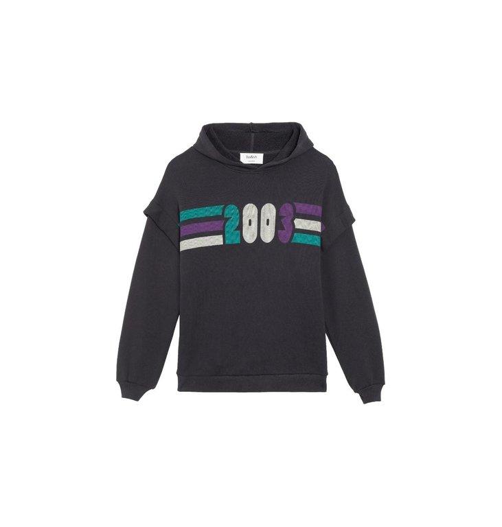 Ba&sh Ba&sh Faded Black Sweater Blow