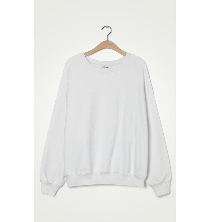 American Vintage American Vintage White Sweater Wit90B