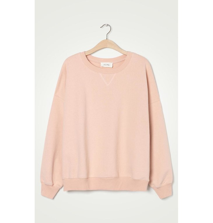American Vintage American Vintage Soft Pink Sweater Wit90B