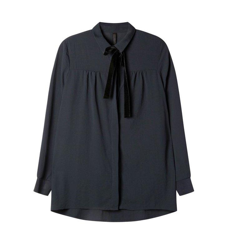 10Days 10Days Navy Blue Blouse Crepe 20.410.0201