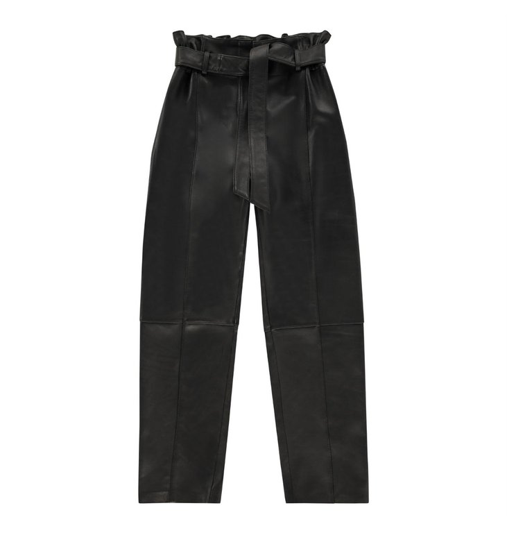 Studio AR by Arma Studio AR by Arma Black Claire Leather Trousers 017L201114