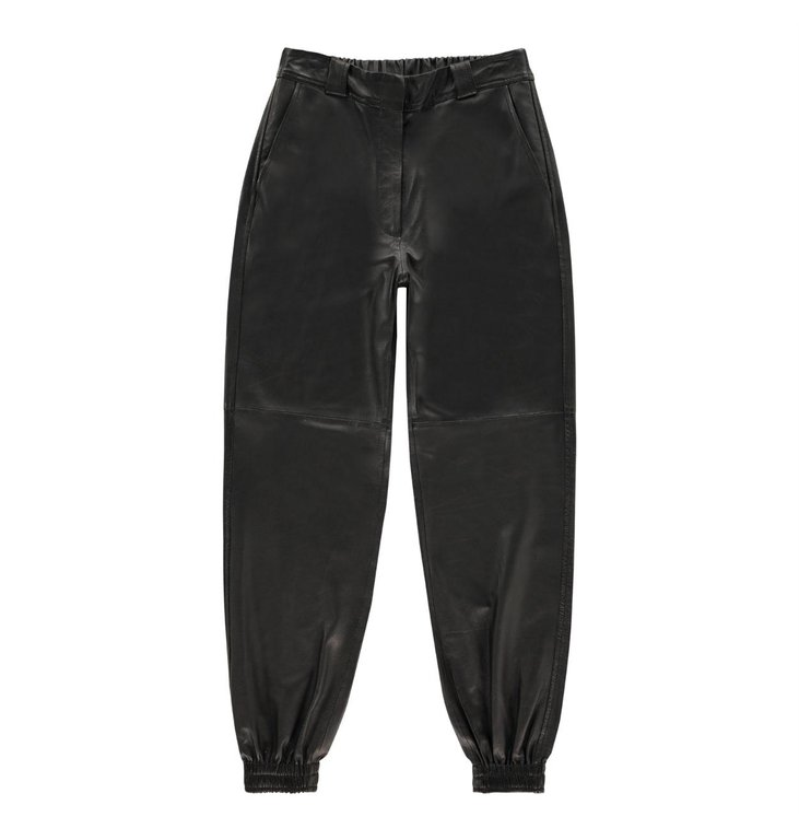 Studio AR by Arma Studio AR by Arma Black Peyton Leather Trousers 015L201092