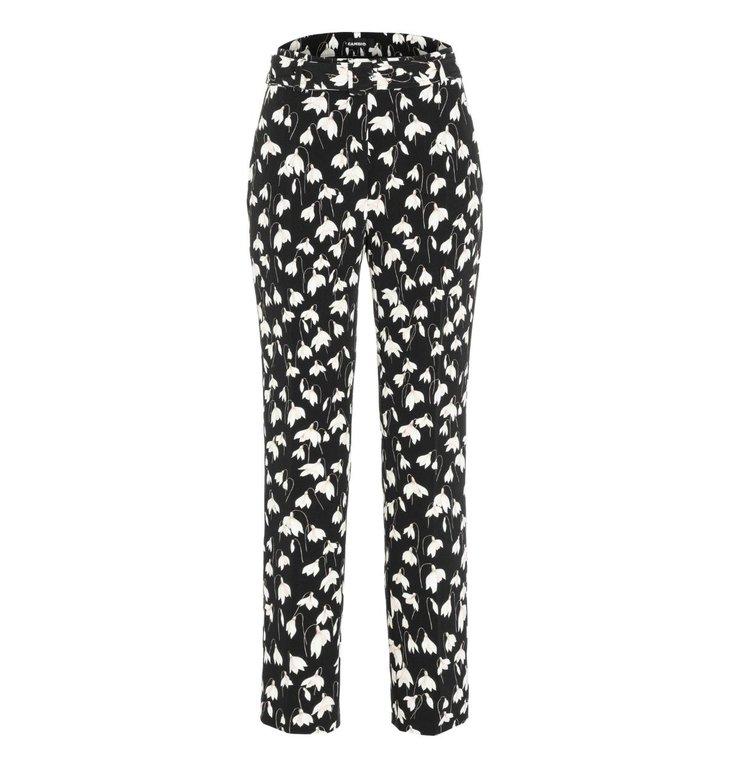 Cambio Cambio Black/White Celina Trousers 6768-0392-08