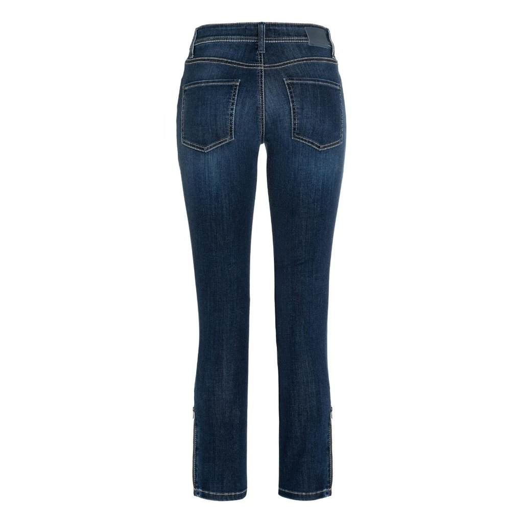 Cambio Denim Blue Parla Zip Jeans 9164-0094-13