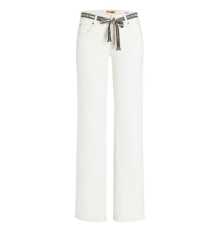 Cambio Cambio Off White Tess Wide Leg Jeans 9058-0037-06