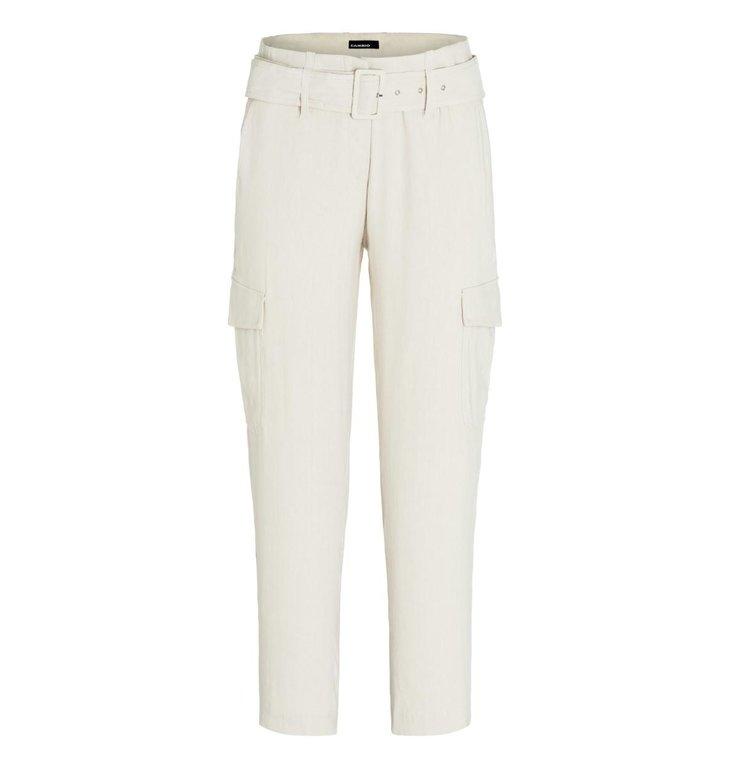 Cambio Cambio Off White Kaia Cargo Pants 8010-0315-01