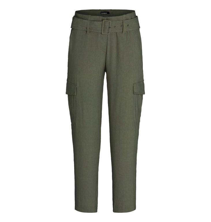 Cambio Cambio Kaki Kaia Cargo Pants 8010-0315-01