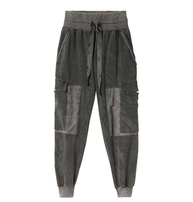 10Days 10Days Brown Grey Jogger Fade Out Leaf 20.059.0201/1