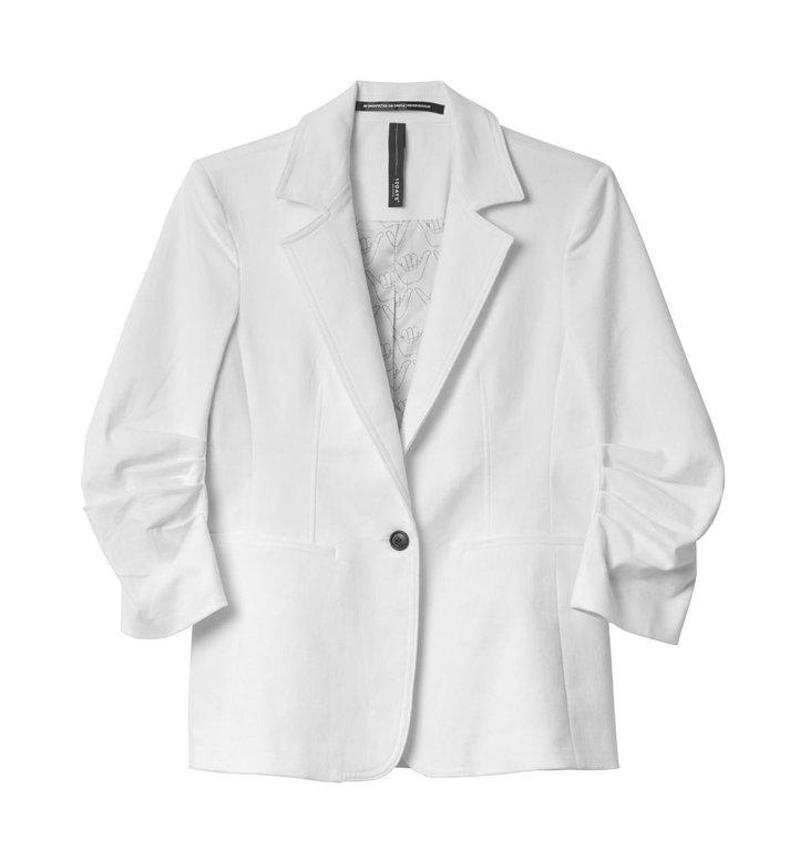 10Days 10Days White Blazer Twill 20.506.0201/1