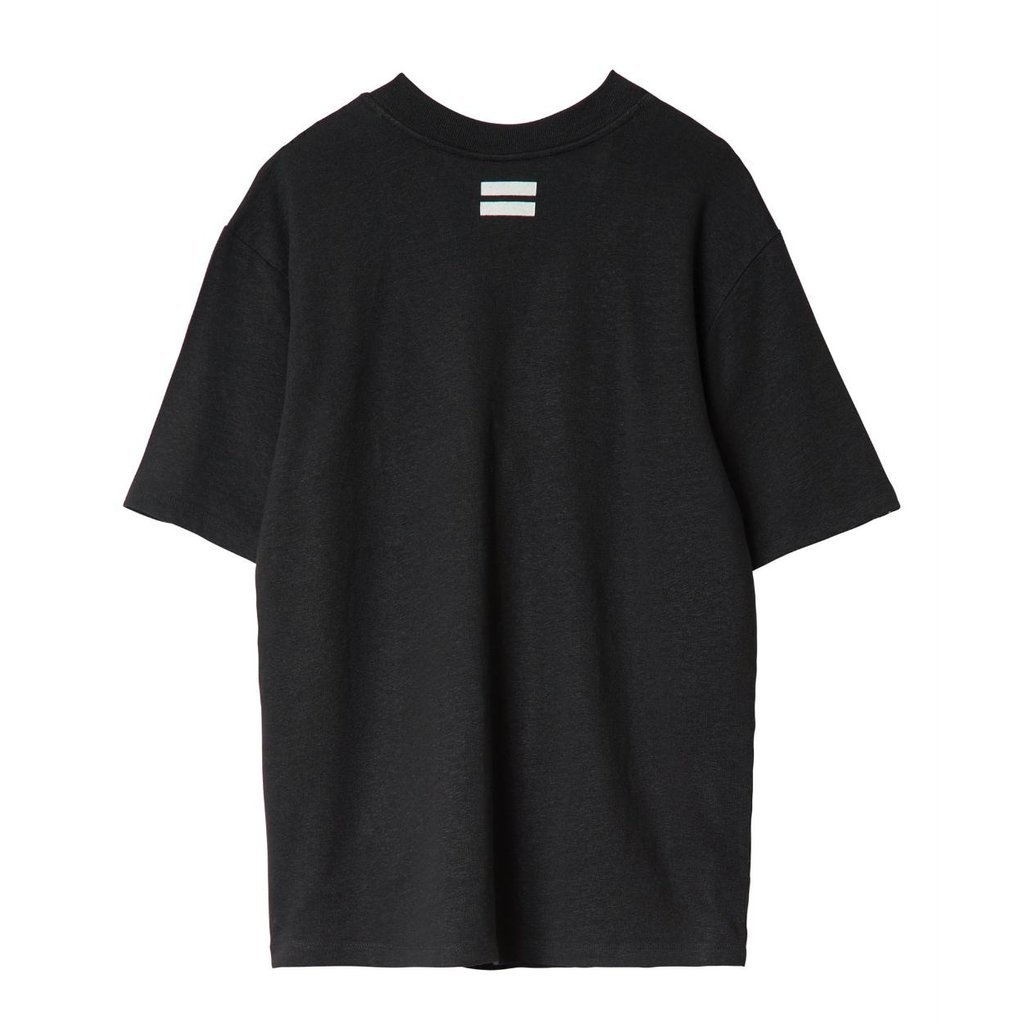 10Days Black Reversible Low V-Neck Tee 20.749.0201/1