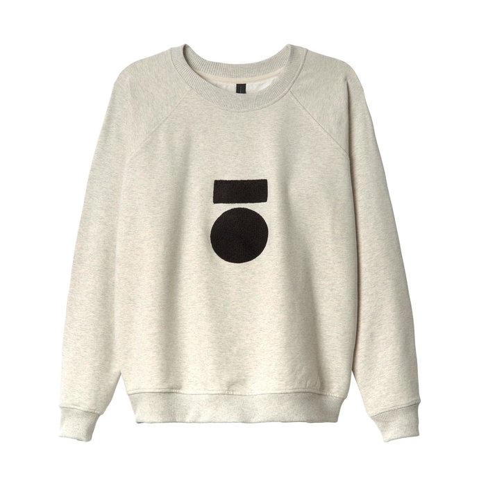 10Days Soft White Melee Sweater Terry 20.802.0201/1