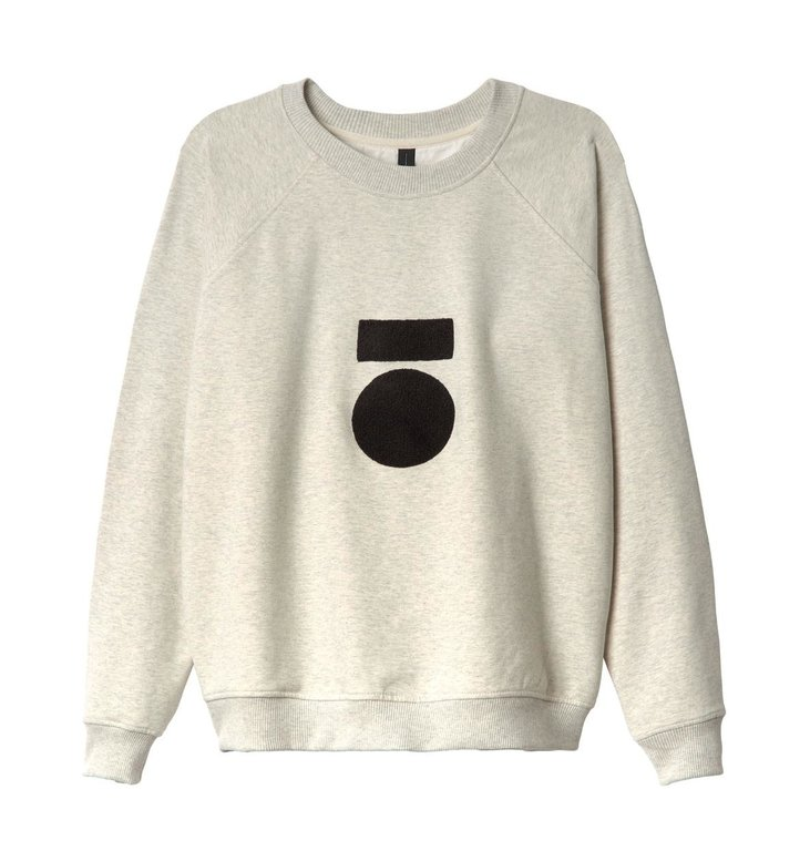 10Days 10Days Soft White Melee Sweater Terry 20.802.0201/1