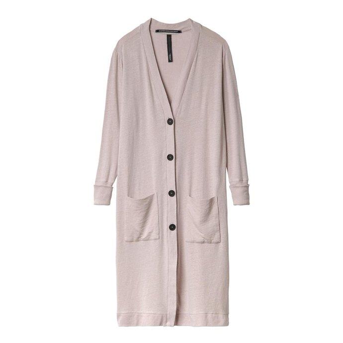 10Days Light Pink Cardigan Linen 20.856.0201/1