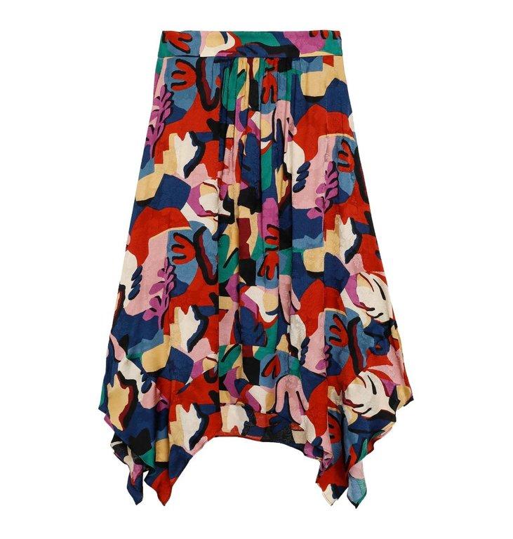 Ba&sh Ba&sh Blue Skirt Maia
