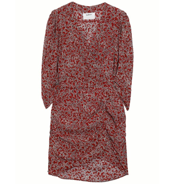 Ba&sh Ba&sh Red Dress Crystal