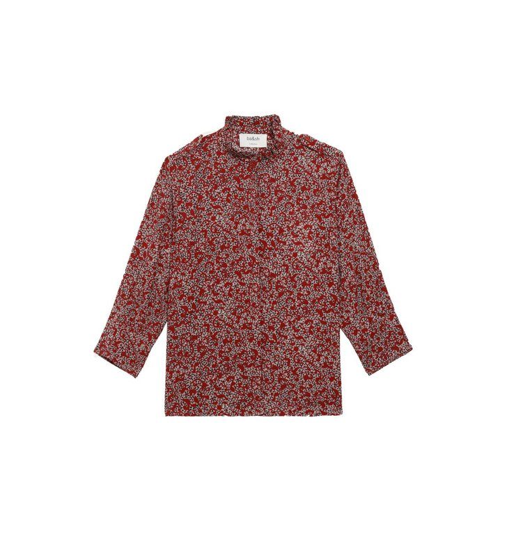 Ba&sh Ba&sh Red Blouse Catty