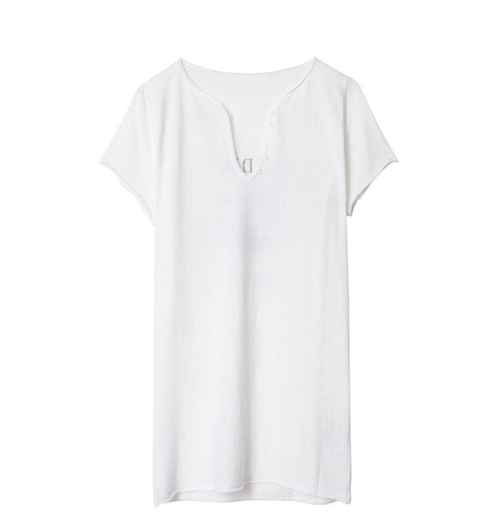 Zadig & Voltaire Zadig & Voltaire White T-shirt Tunisien Destinee Strass