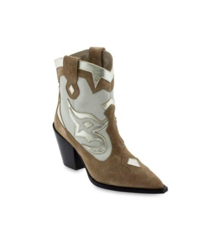 Toral Shoes Toral Shoes Brown Cowboy Boot TL12365