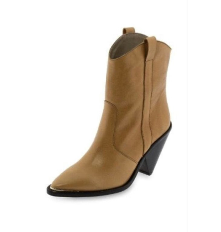 Toral Shoes Toral Shoes Camel Cowboy Boots Leather TL12031