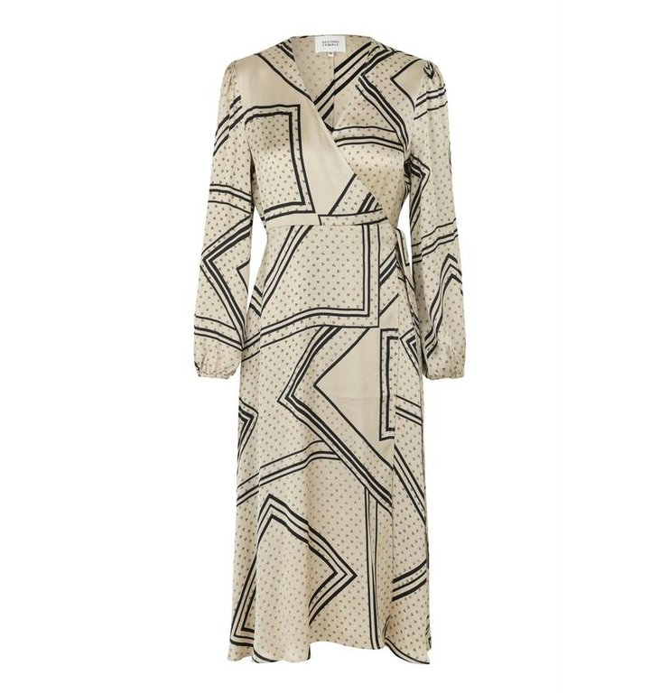 Second Female Second Female Sand Wrap Dress Isa