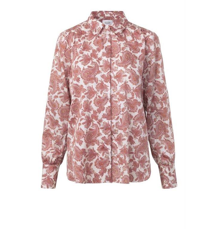 Second Female Second Female Print Blouse Hellen Shirt