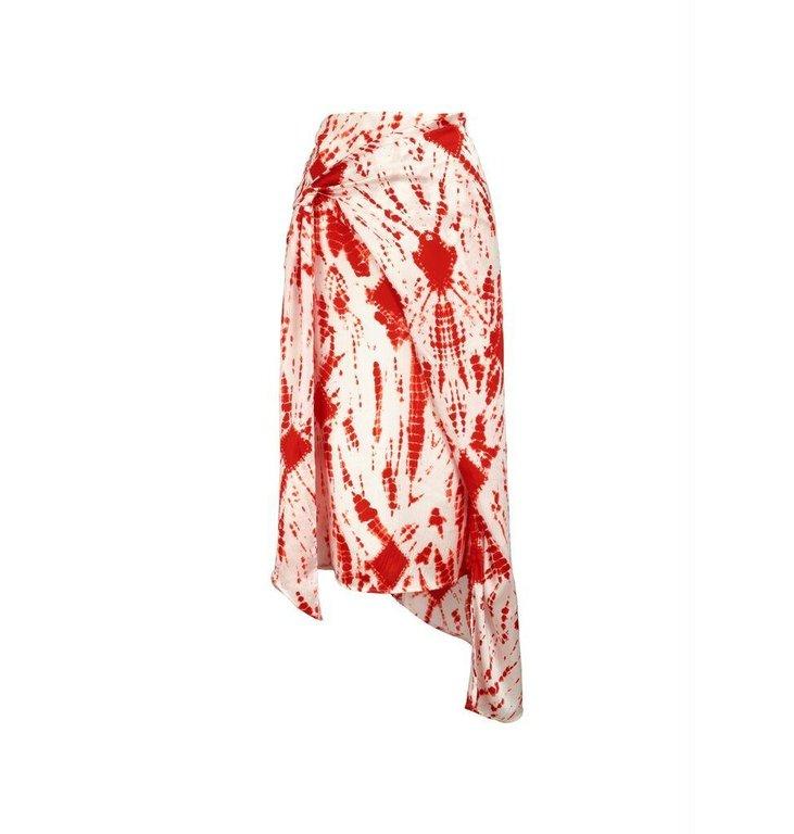 Essentiel Antwerp Essentiel Antwerp White/Red Skirt Vyse