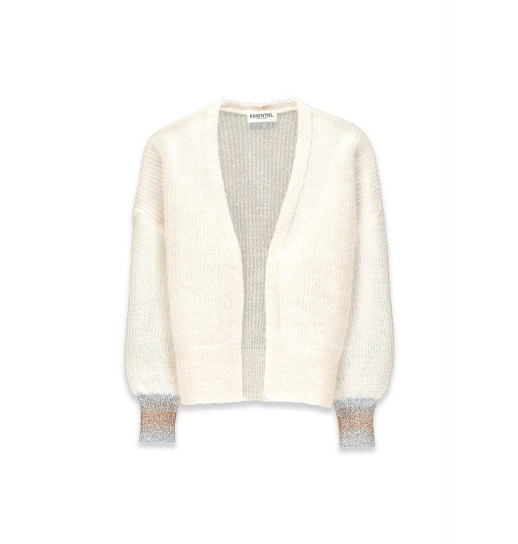 Essentiel Antwerp Essentiel Antwerp Off White Cardigan Valleroy