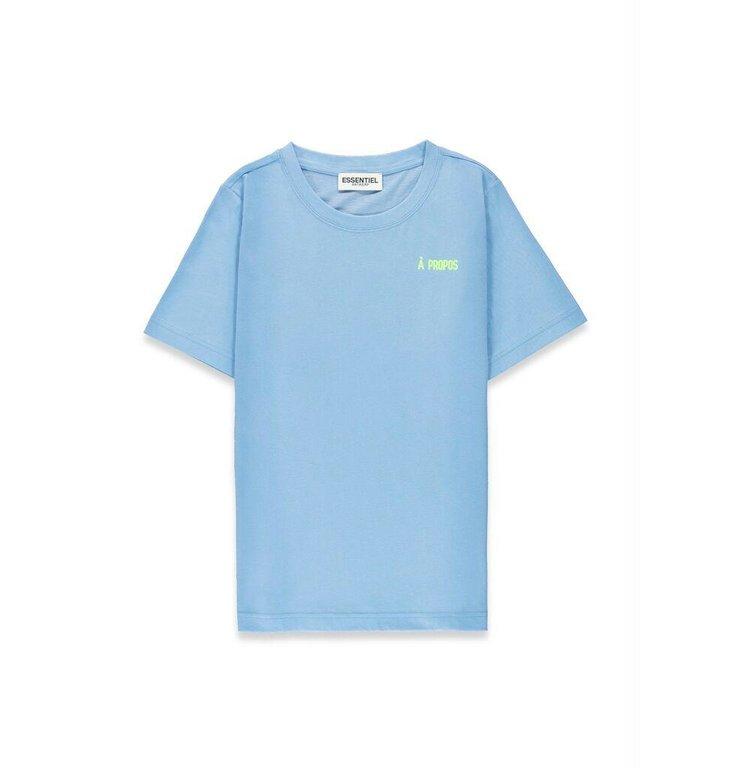 Essentiel Antwerp Essentiel Antwerp Blue Tshirt Vront