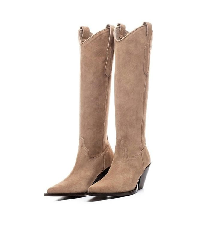 Toral Shoes Toral Shoes Camel Cowboy Boots High TL12028