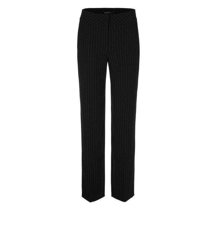 Marc Cain Marc Cain Black Pinstripe Pantalon NC8107-W11