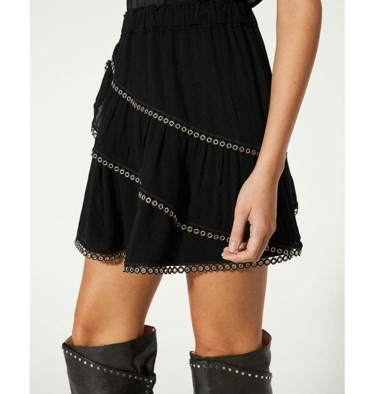 IRO IRO Black Skirt Nisia