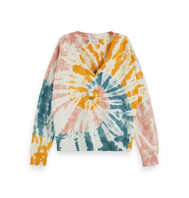 Maison Scotch Maison Scotch Multicolour Tie Dye Sweater 156150
