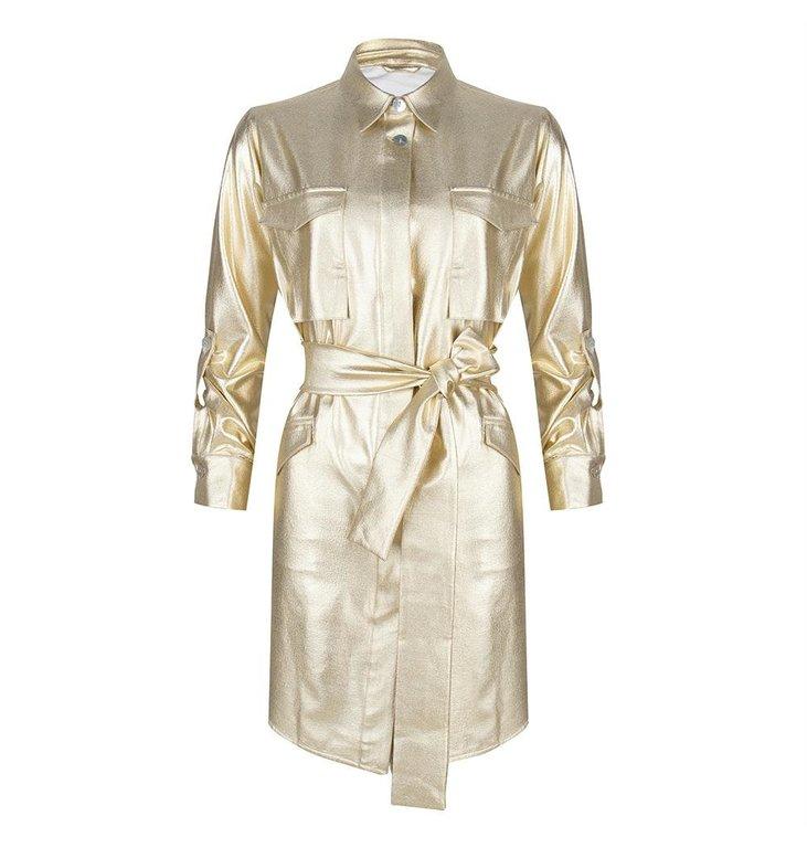 Chptr S Chptr S Gold Dress The Lisbon