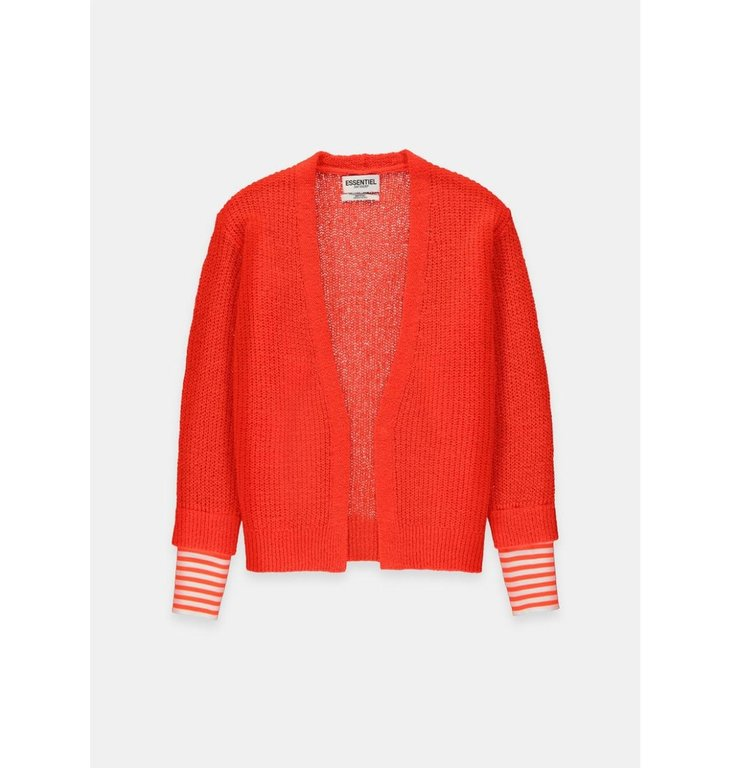 Essentiel Antwerp Essentiel Antwerp Red Cardigan Vouloir