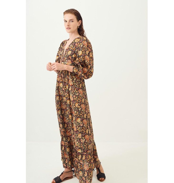 Antik Batik Antik Batik Black Dress Cherie Long