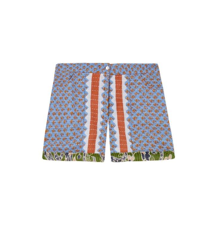 Antik Batik Antik Batik Blue Short Gisele