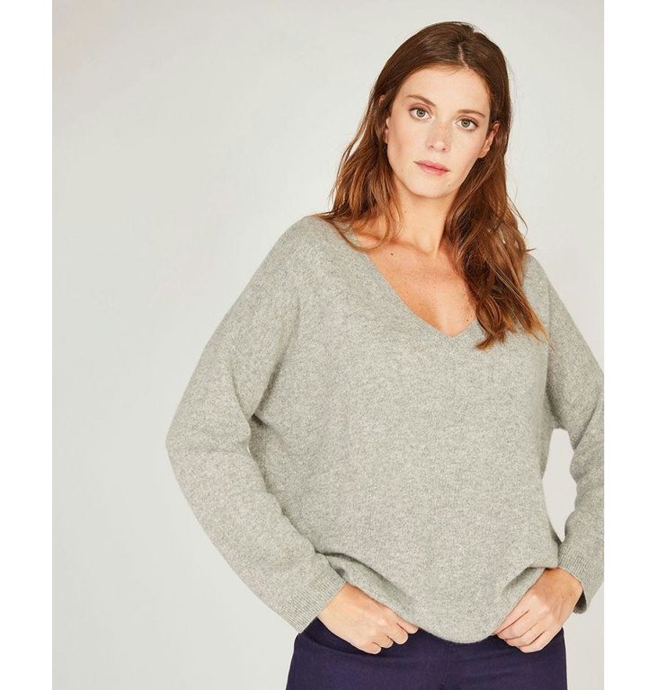 Absolute Cashmere Absolute Cashmere Grey Pull Maxi AC092012C