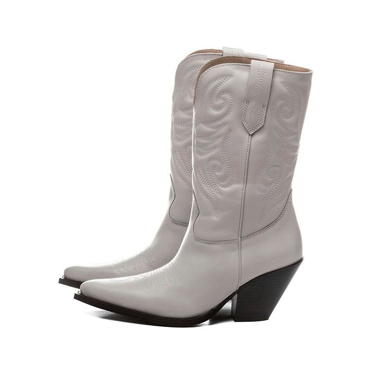 Toral Shoes Toral Shoes Ecru Cowboy Laars TL12376