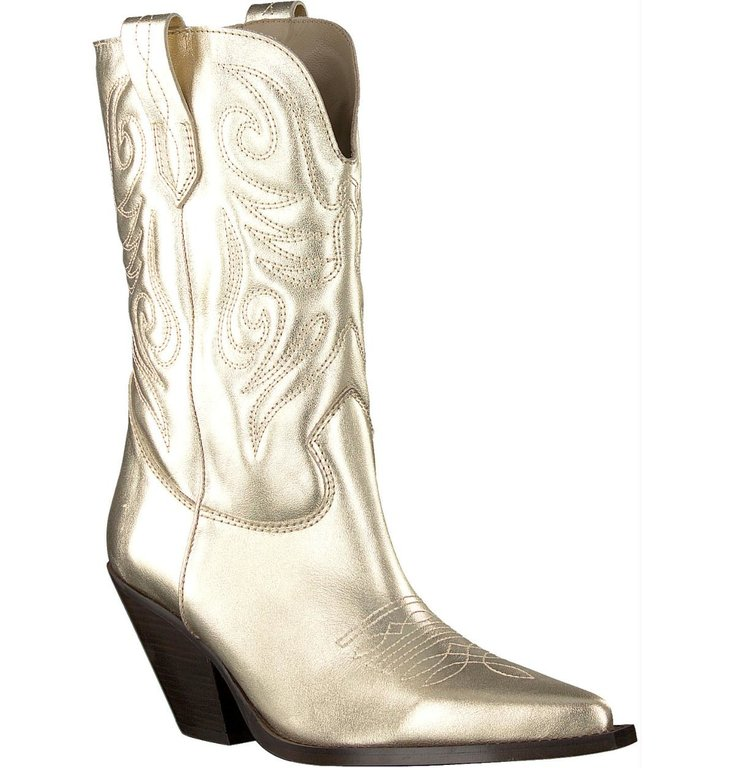 Toral Shoes Toral Shoes Gold Cowboy Laars TL12376