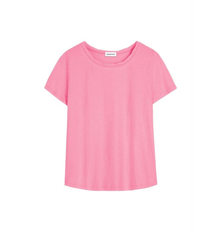 Neeve Neeve Light Pink Organic T-Shirt The Crew