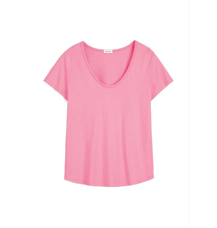 Neeve Neeve Light Pink Organic Shirt The U neck