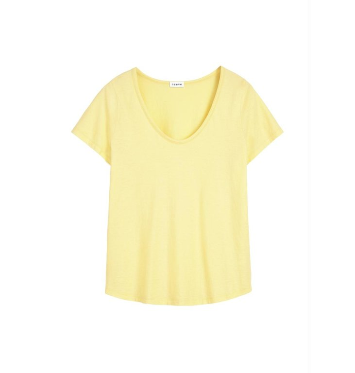 Neeve Neeve Yellow Organic Shirt The U neck