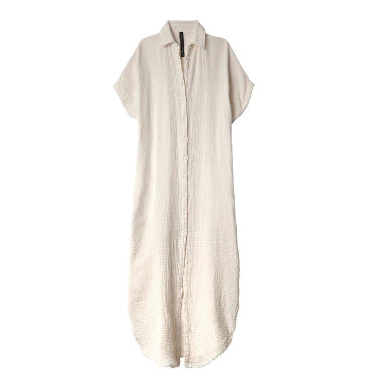 10Days 10Days White Sand Tunic Dress Waffle 20.308.0201/2