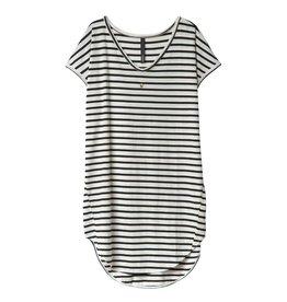 10Days 10Days Ecru/Black Dress Stripes 20.312.0201/2