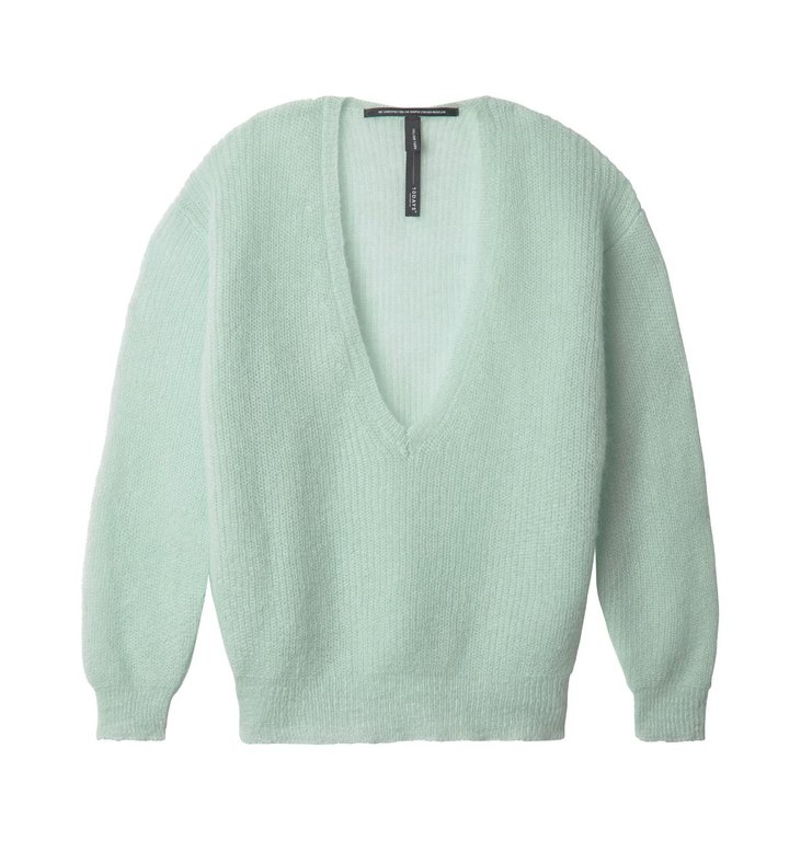 10Days 10Days Blue Surf V-Neck Sweater 20.612.0201/2