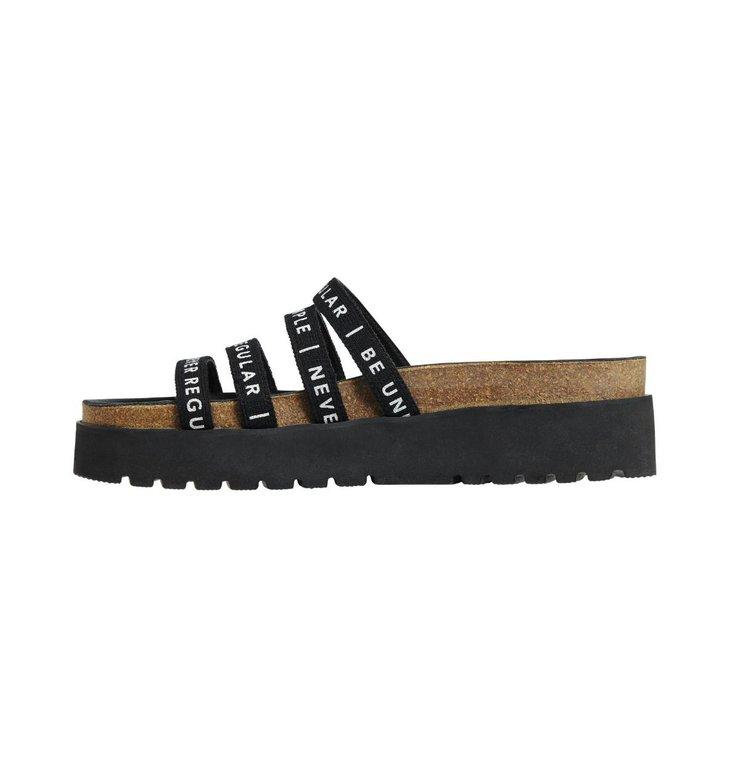 10Days 10Days Black Slippers 20.932.0201/2