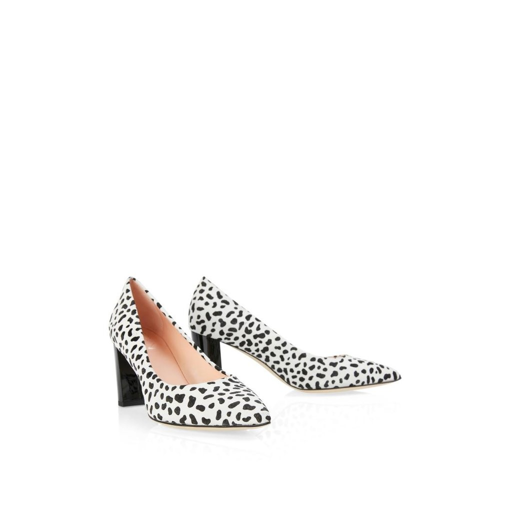 Marc Cain Black/White Pumps NBSD03-L11