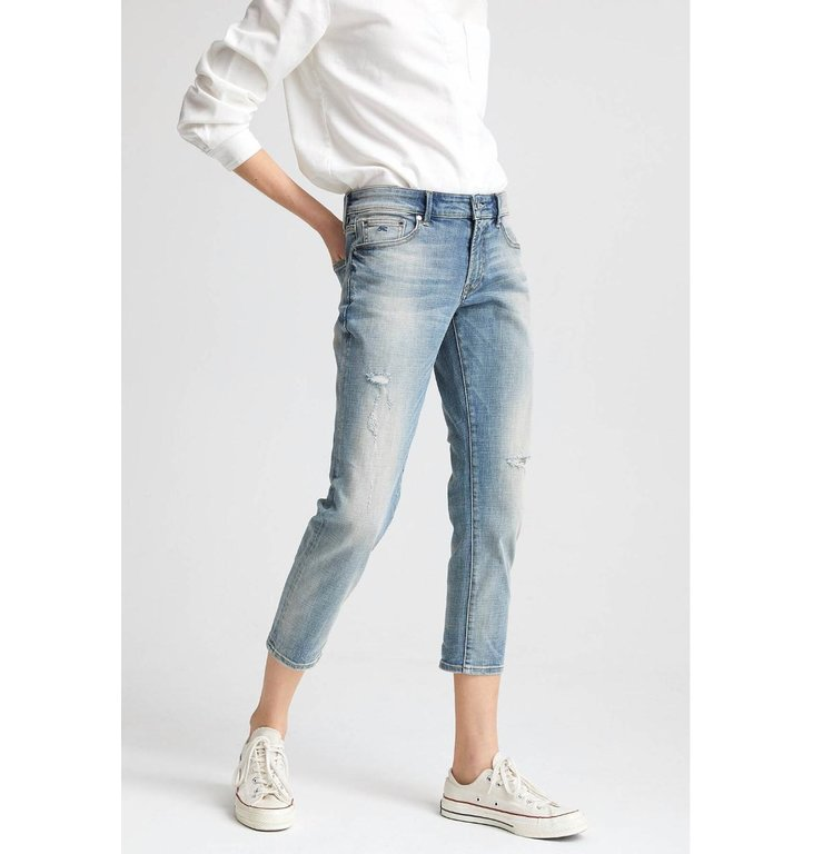 Denham Denham Denim Blue The Girlfriend Fit Jeans Monroe